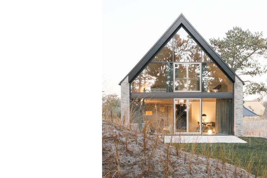 Architektur Ferienhäuser haus in den dünen st ording bub architekten