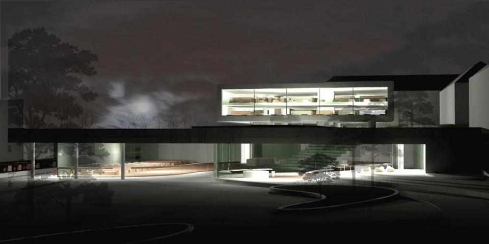 Architekten Fulda wettbewerb mensa und bibliothek fachhochschule fulda bub