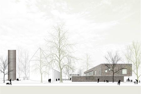 BUB architekten bda _KITA Lurup_Wettbewerb_Frontbild (1 von 1)
